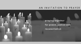 link to Invitation to Prayer website